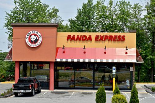 the exterior of a Panda Express