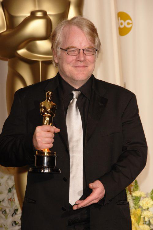 Philip Seymour Hoffman at the 2006 Oscars