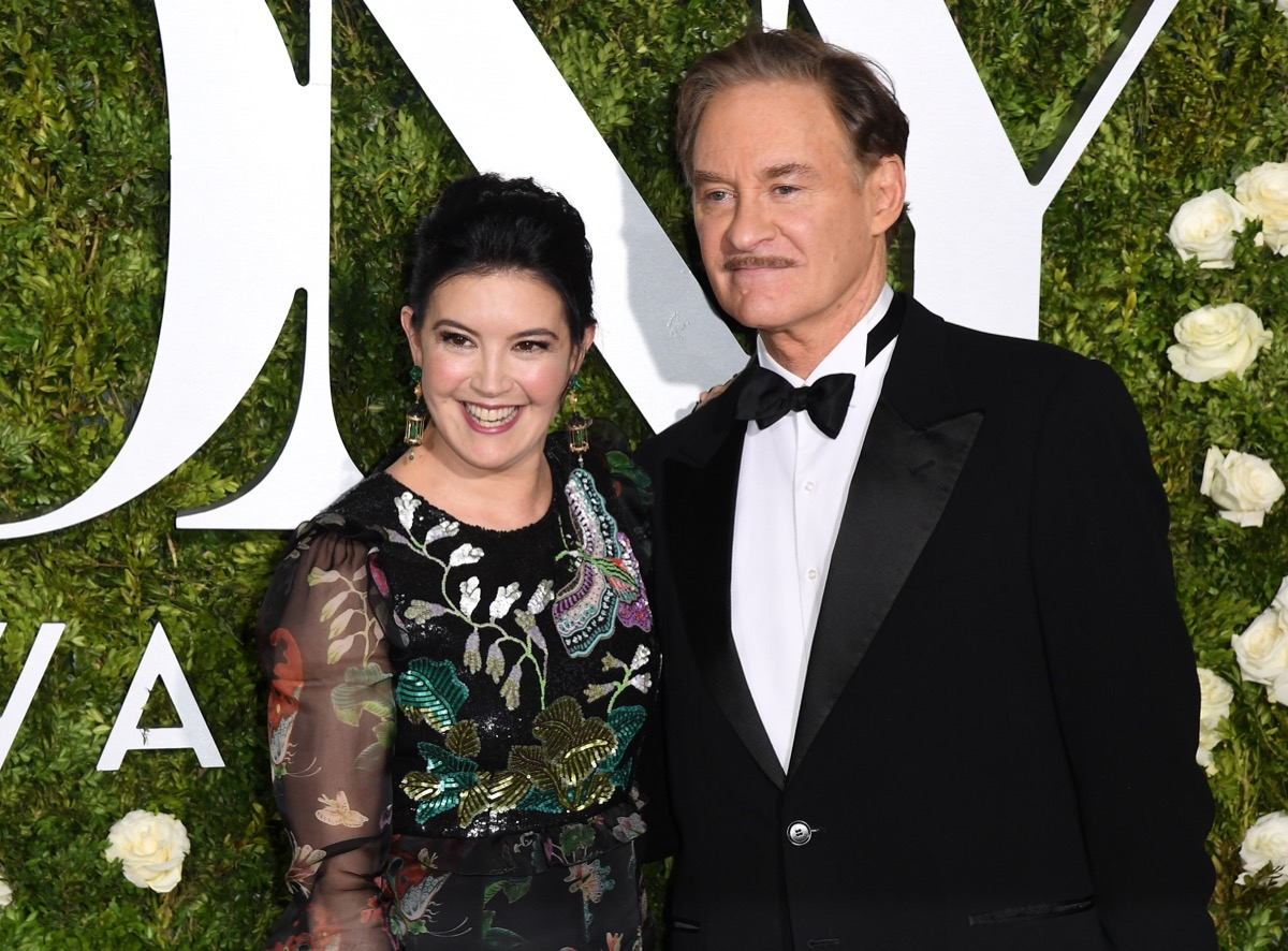 Phoebe Cates and Kevin Kline in 2017
