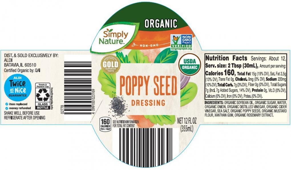 Aldi Poppy Seed Dressing recalled