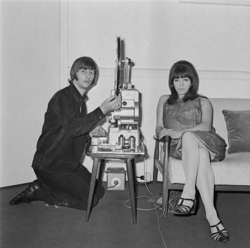 Ringo Starr and Maureen Starkey in June 1965