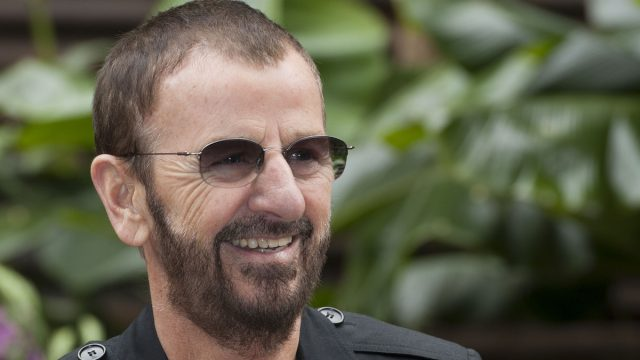 Ringo Starr at the Press Day for the 2012 RHS Chelsea Flower Show