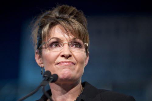 Sarah Palin campaigning for John McCain in Arizona in 2010