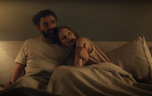 """Oscar Isaac and Jessica Chastain in """"Scenes from a Marriage"""""""