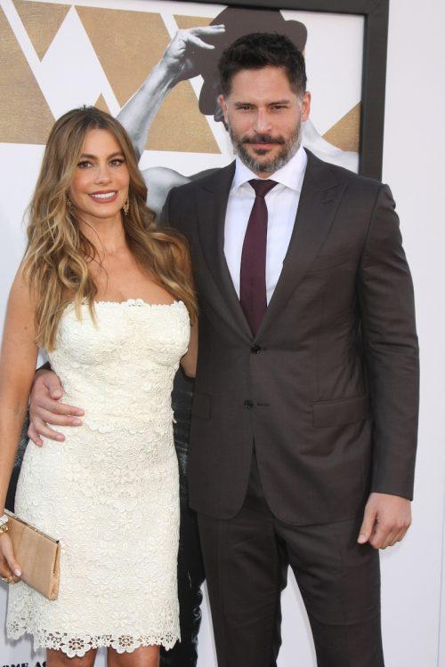 "Sofía Vergara and Joe Manganiello at the premiere of ""Magic Mike XXL"" in June 2015"