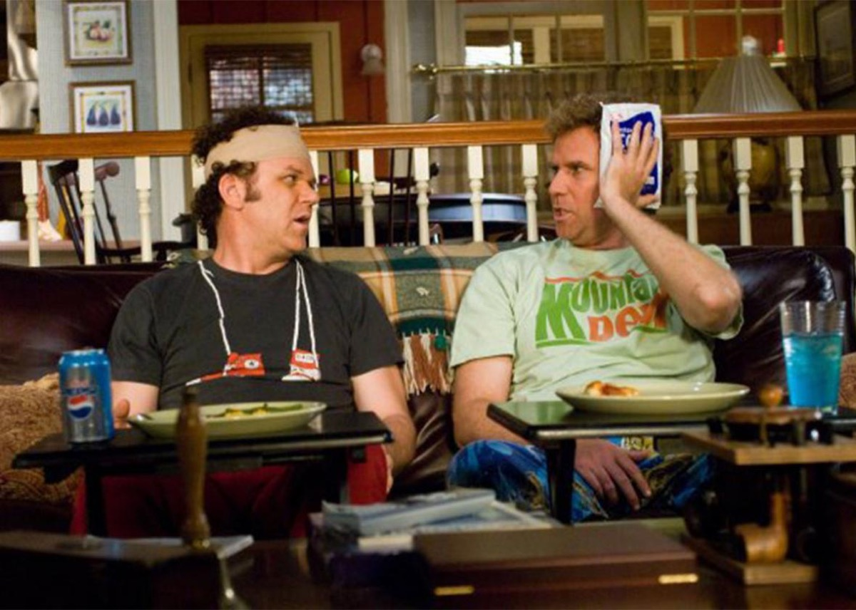 John C Reilly and Will Ferrell in Step Brothers