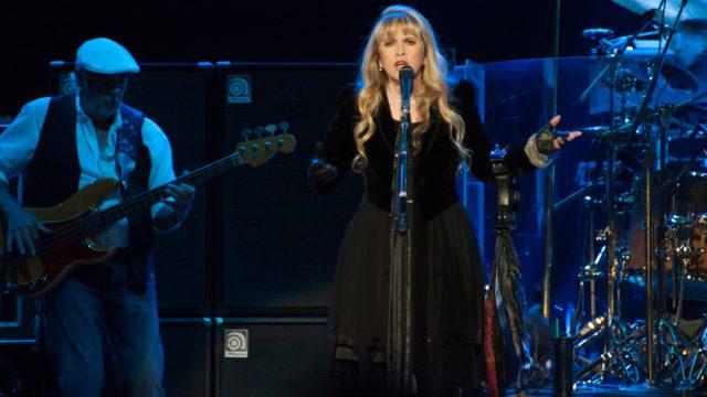 Stevie Nicks performing with Fleetwood Mac in July 2013