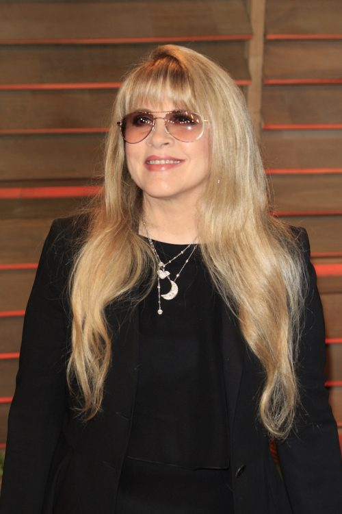Stevie NIcks at the 2014 Vanity Fair Oscar Party