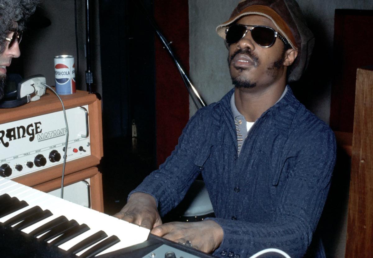 Stevie Wonder in the 70s