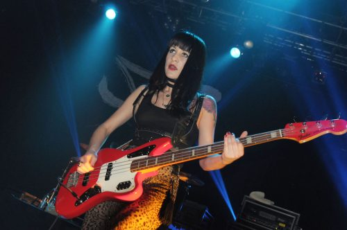 Tatia Starkey performing with My Vitriol in May 2013 in London
