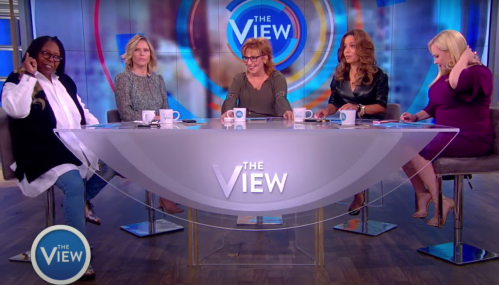 """""""The View"""" co-hosts hosting the show in June 2018"""