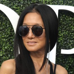 Vera Wang at the US Open in August 2017