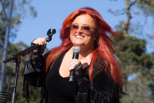 Wynonna Judd performing at Hardly Strictly Bluegrass in San Francisco in October 2016