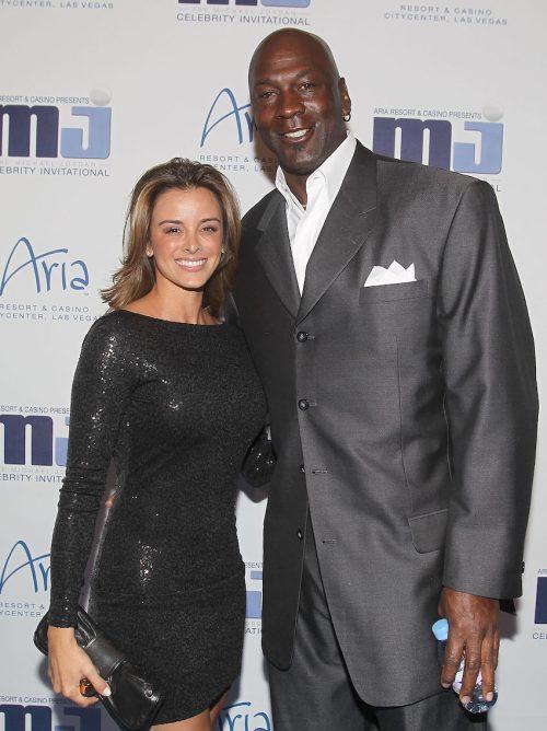 Yvette Prieto and Michael Jordan at the 10th Annual Michael Jordan Celebrity Invitational Celebration in April 2011