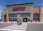 shopping at costco