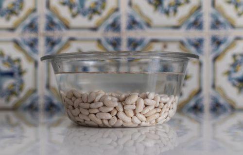 Soak the beans