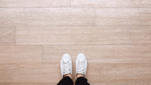 Shoes inside