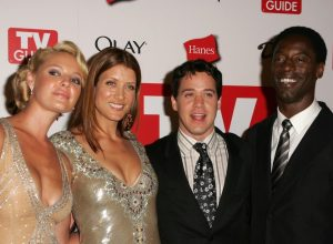 """""""Grey's Anatomy"""" stars at the TV Guide Emmy After Party in August 2006"""