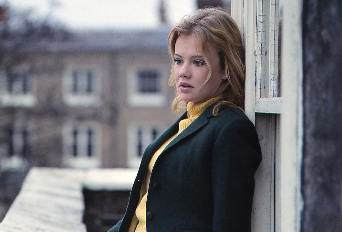 Hayley Mills at the family home in Richmond, London, circa 1965.