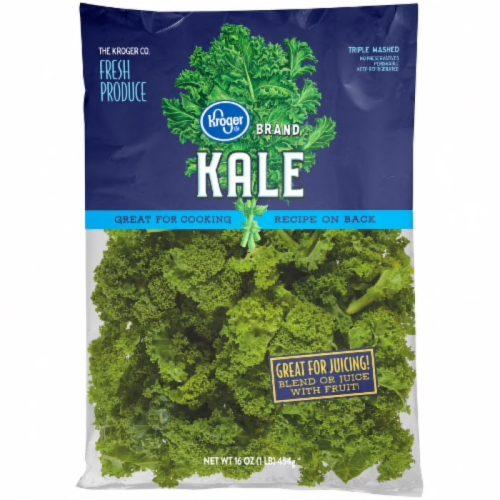 kroger brand bagged kale 16 ounce