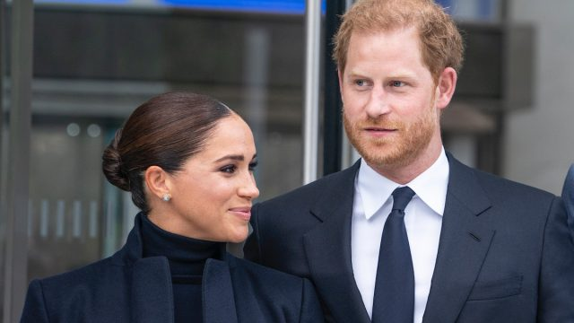 The Duke and Duchess of Sussex, Prince Harry and Meghan visit One World Observatory on 102nd floor of Freedom Tower of World Trade Center.