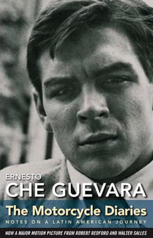 """Cover of """"The Motorcycle Diaries"""" book by Che Guevara"""