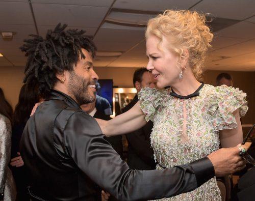 Nicole Kidman and Lenny Kravitz 2016