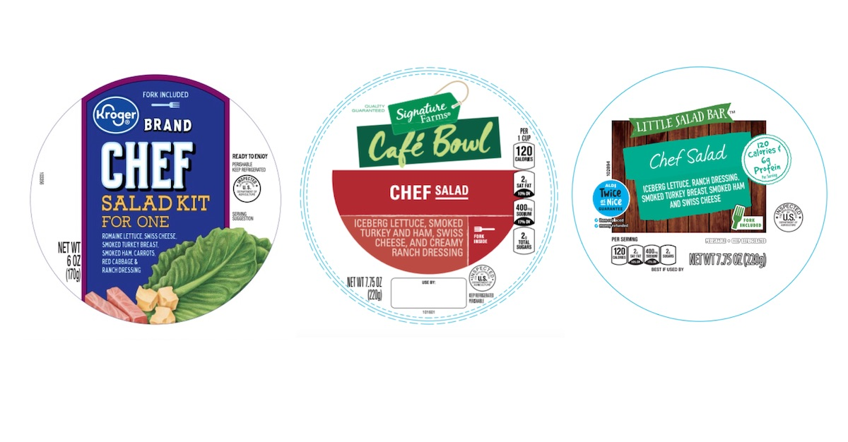 Alternative labels for Ready Pac Foods salad recalled