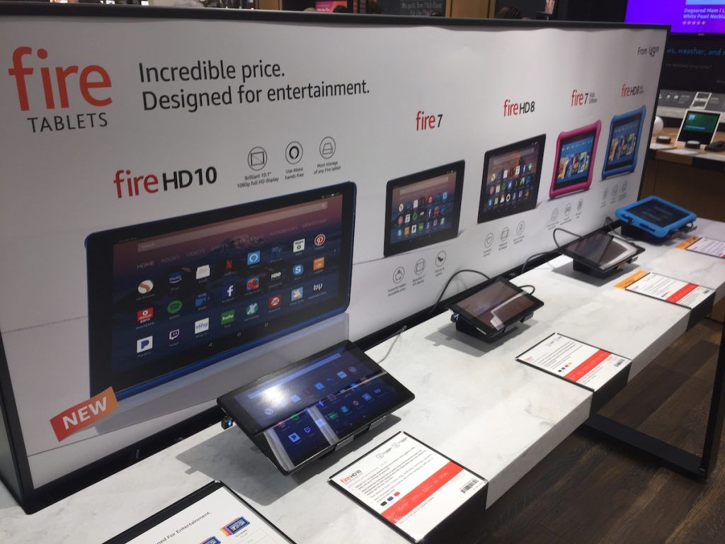 Amazon fire products