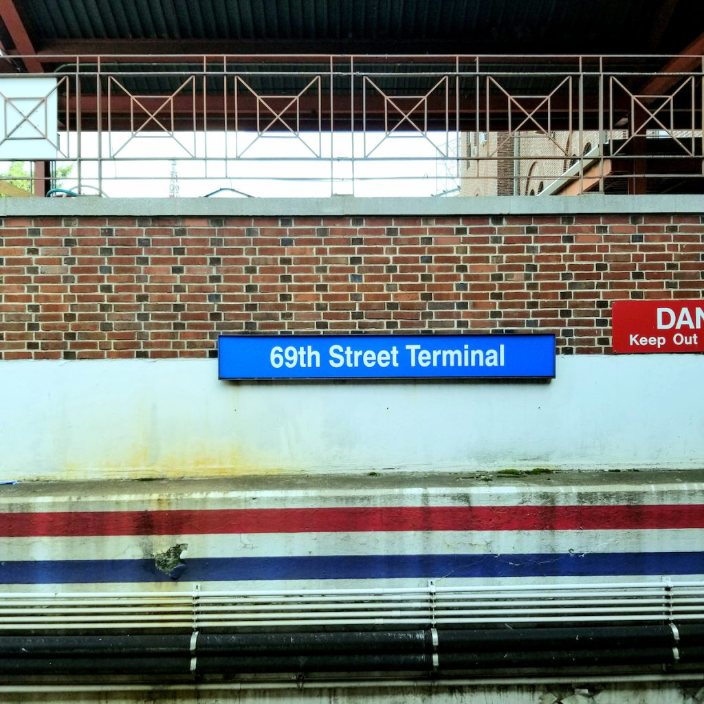 Darby, Pennsylvania train station