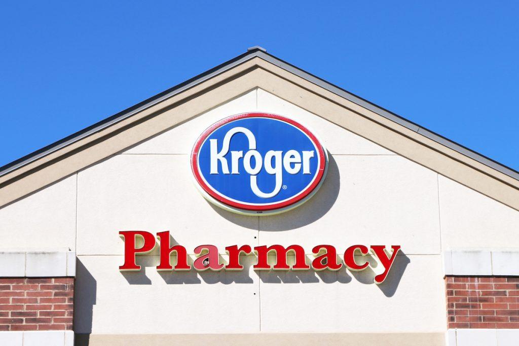 Kroger pharmacy exterior