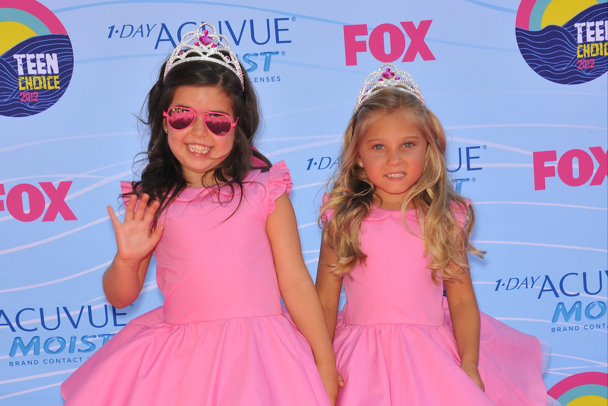 Sophia Grace Brownlee & Rosie McClelland at the 2012 Teen Choice Awards at the Gibson Amphitheatre, Universal City.