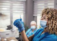medical workers inside hospital during coronavirus pandemic