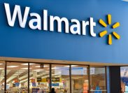 Toronto, Canada, 2020. Walmart storefront. Walmart Inc. is American retail corporation operates hypermarkets, discount department and grocery stores. Fortune 500 company, also largest employer in USA