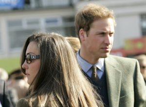 Prince William & Kate Middleton Attend The First Day Of The Cheltenham Festival Race Meeting. .