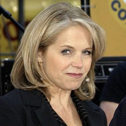 Katie Couric, Bryan Adams on stage for NBC Today Show Concert Series Rockefeller Center, New York, NY, May 27, 2005
