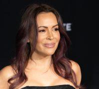 """Alyssa Milano at a screening of """"Bombshell"""" in December 2019"""