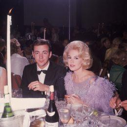 Bobby Darin ans Sandra Dee at fancy dinner event