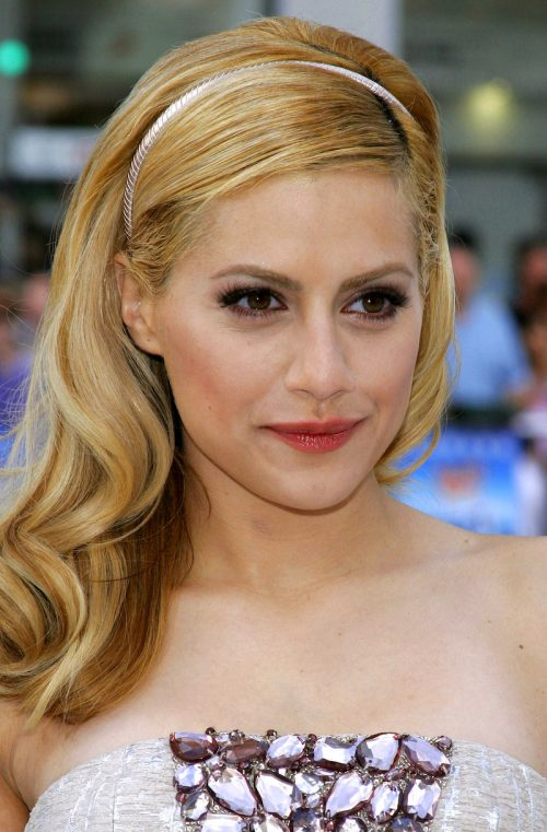 """Brittany Murphy at the premiere of """"Happy Feet"""" in 2006"""
