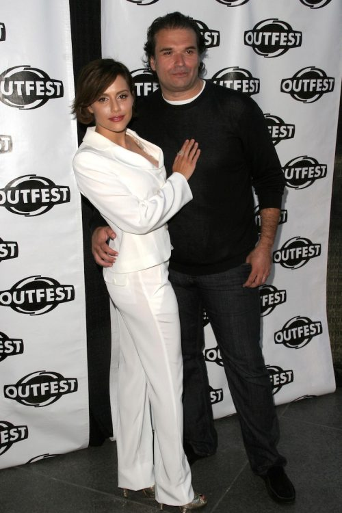 """Brittany Murphy and Simon Monjack at a screening of """"Love and Other Disasters"""" in July 2007"""