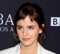 Emma Watson at the 2018 BAFTA Tea Party