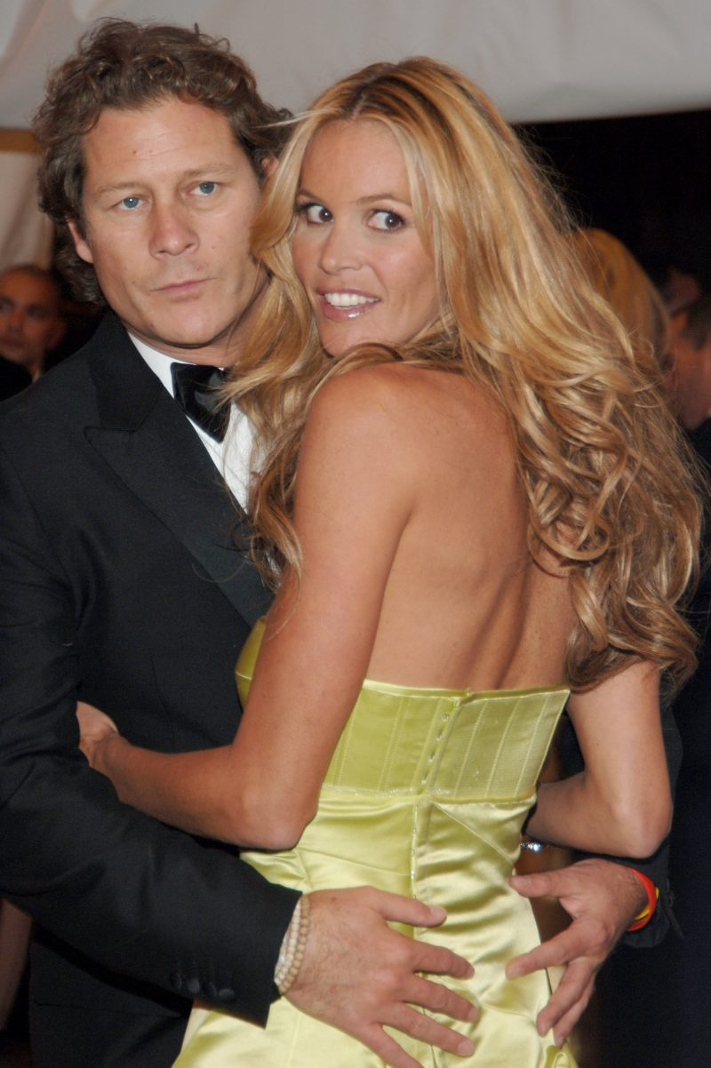 Elle MacPherson and Arpad Busson, parents of Cy Busson
