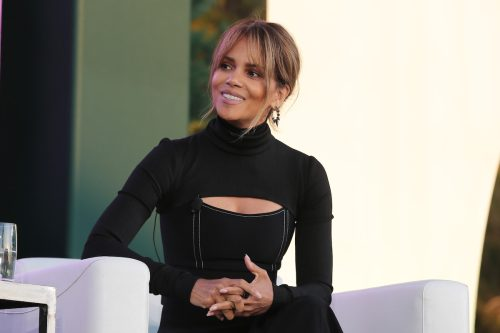 Halle Berry at the Annual espnW: Women + Sports Summit in October 2021
