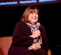 Ina Garten on stage at the 2019 New Yorker Festival