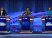 """Contestants on """"Jeopardy!"""" on October 25, 2021"""
