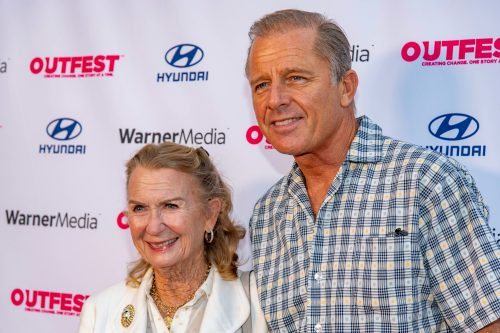 Juliet Mills and Maxwell Caulfield at Outfest Film Festival in August 2021