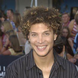 Justin Guarini at the 2003 Teen Choice Awards