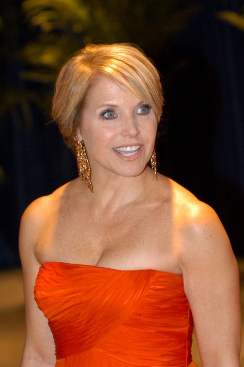 Katie Couric at the 2010 White House Correspondents Association Dinner