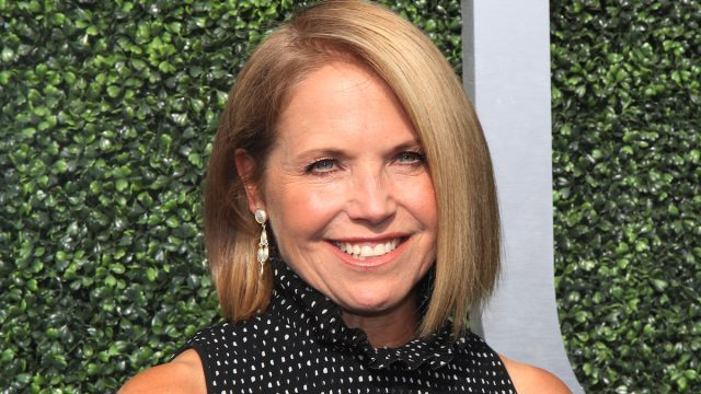 Katie Couric at the 2017 U.S. Open