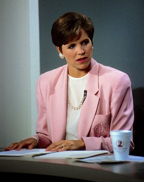 """Katie Couric hosting the """"Today"""" show in 1991"""